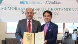 KETI, 美 UCSD와 웨어러블센서 기술협력