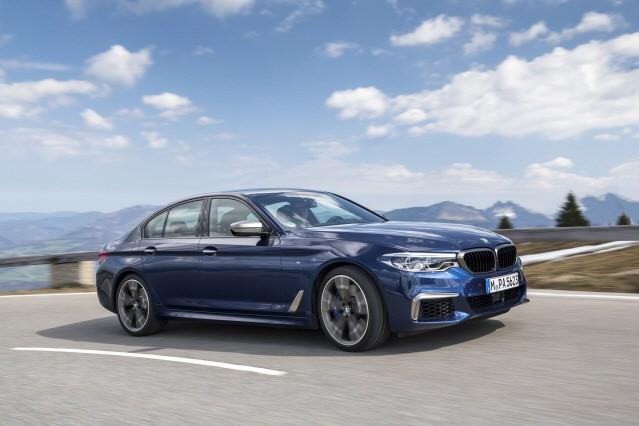BMW, 5시리즈 최강 모델 '뉴 M550d' 출시
