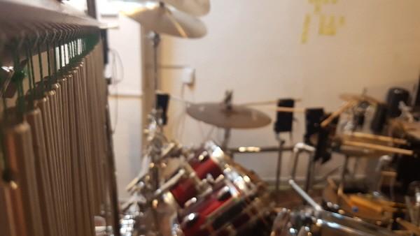 '재즈메카트로니카' 자동 연주 로봇 DRUM 파트. 사진=이모션웨이브아츠 제공
