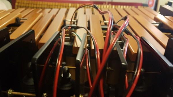'재즈메카트로니카' 자동 연주 로봇 마림바 파트. 사진=이모션웨이브아츠 제공