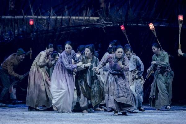 국립창극단 '산불' 공연사진. 사진=국립극장 제공