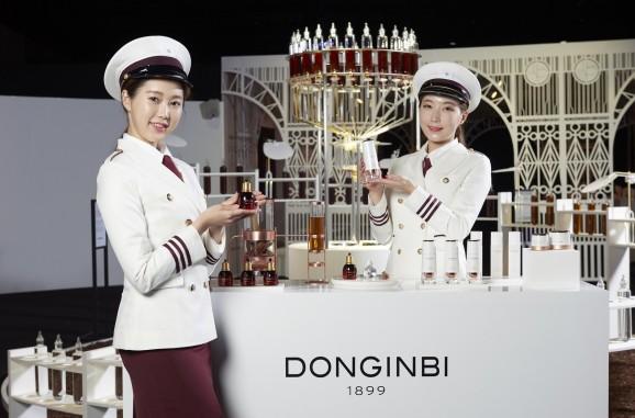 KGC인삼공사는 지난 10월 30일 서울 장충동 신라호텔에서 'New 동인비 론칭행사'를 개최하고 동인비의 새로운 탄생을 알렸다. 사진=KGC인삼공사 제공