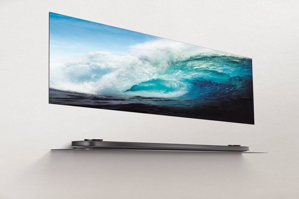 LG Electronics' Signature OLED TV W'