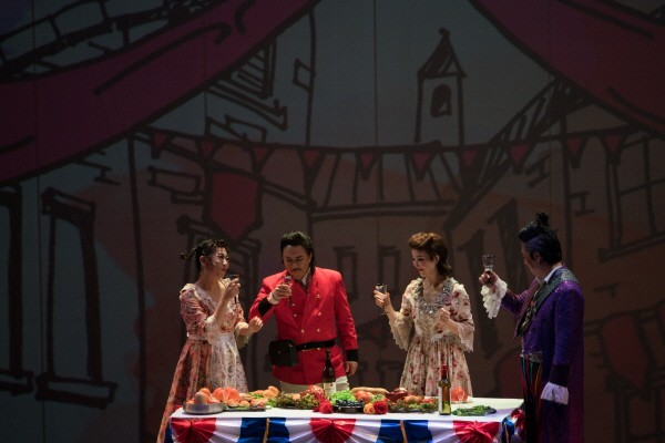 '사랑의 묘약' 공연사진. 사진=세계4대오페라축제 제공