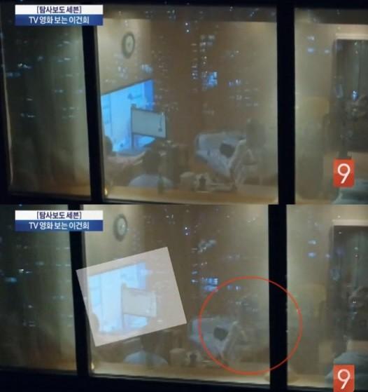 """'TV시청 포착' 이건희 회장, 누리꾼 출처 의문 제기 """"대체 어떻게 입수한 사진일까?"""""""