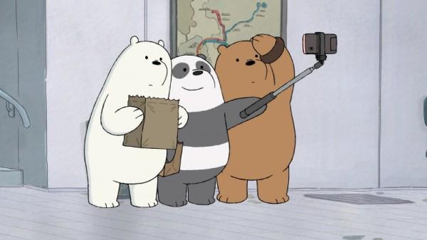선데이토즈의 신작 주인공인 IP '위 베어 베어스' 애니메이션의 한 장면. 사진=카툰네트워크.