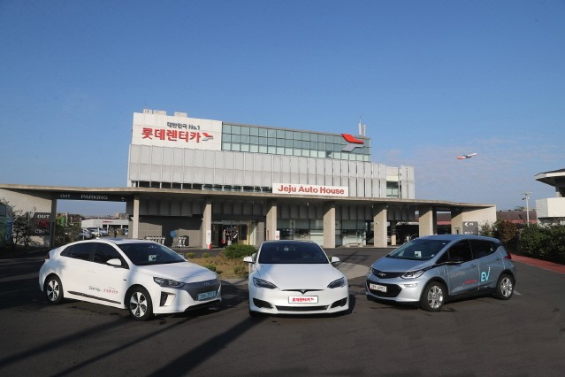 롯데렌터카 제주오토하우스, 업계 최초 테슬라 모델S 90D 도입