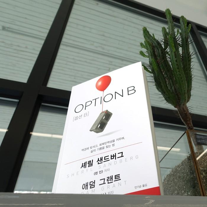 [안중찬의 書三讀] 셰릴 샌드버그 'OPTION B'- 어제와 다른 오늘의 선택