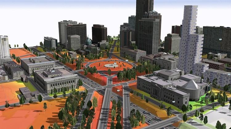 Esri CityEngine을 활용한3D 도시 모델링