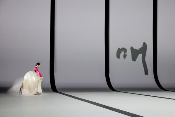 '묵향' 제2장 매화(梅花) 공연사진. 사진=국립극장 제공