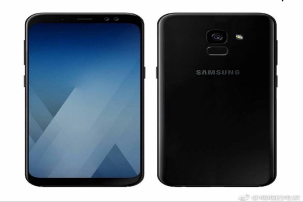 Rendering image of Galaxy A5 introduced by a foreign press