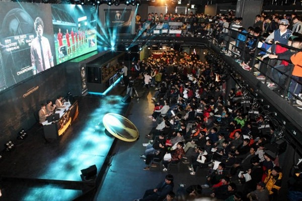 Panoramic view of Nexon Arena (Picture = Database from The Electronic Times)