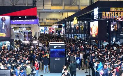 국내 최대 게임쇼 'G-STAR 2017' 개막