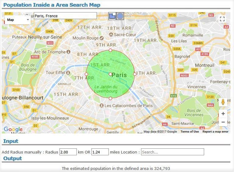 파리 도심 인구
