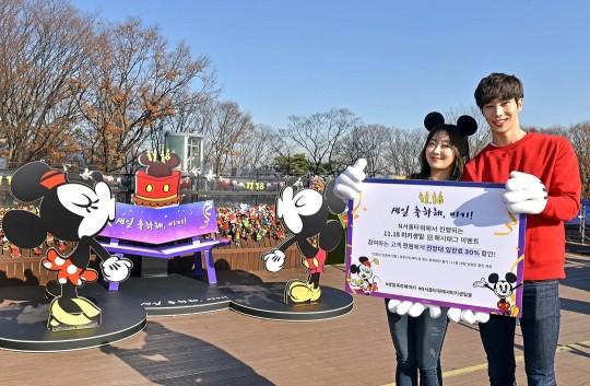미키마우스의 인기를 방증하듯 올해로 국내에서 두 번째로 진행되는 미키마우스 생일 행사에 유통은 물론 영화와 금융업계까지 동참해 눈길을 끌고 있다. 사진=디즈니코리아 제공