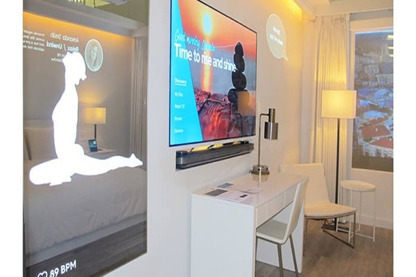 'IoT hotel room' implemented by Samsung Electronics along with Marriott Hotel and Legrand