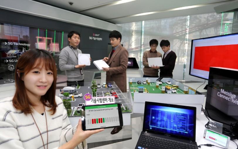 LG유플러스는 5G 시대를 선도하기 위해 국내·외 장비업체와 함께 연구 개발을 공동 진행하고 상용망 테스트 시연까지 가능한 '5G 기술시험센터'를 상암사옥에 구축해 운영 중이다.