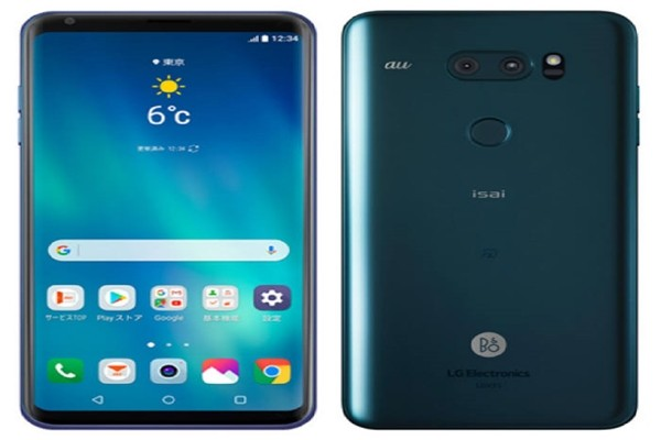 V30 Plus that will be released by LG Electronics next month in Japan.  It is going to be sold under the name of 'V35' in Japanese markets.