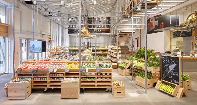 제철농산물을 파는 무인양품 Flagship Store/MUJI홈페이지