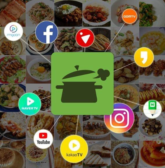 레시피 앱 '만개의레시피' 토탈푸드마케팅 실시
