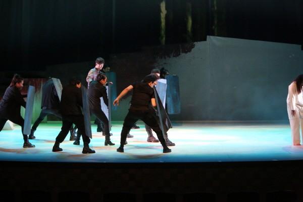 '비명자들2' 공연사진. 사진=광진문화재단 제공
