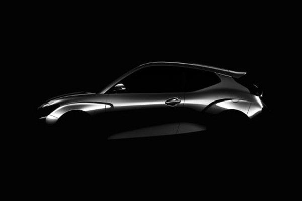 Rendering image of new Veloster
