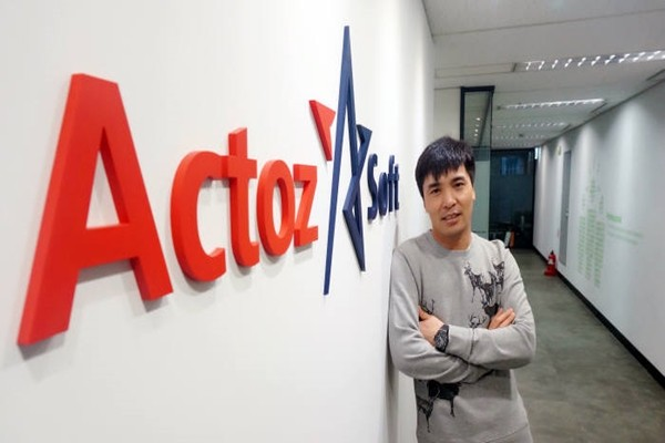 CEO Guo Haibin of Actoz Soft