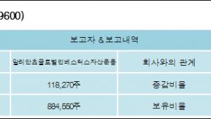 [ET투자뉴스][나스미디어 지분 변동] 알리안츠글로벌인베스터스자산운용1.35%p 증가, 10.1% 보유