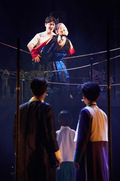 '판' 공연사진. 사진=정동극장 제공