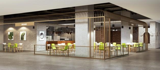 신세계백화점 센텀시티점 식당가 투시도. 사진=신세계백화점 제공