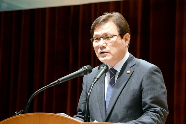 Chairman Choi Jong-gu of Financial Services Commission