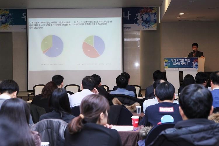 한국인터넷진흥원이 개최한 '우리 기업을 위한 GDPR 세미나'