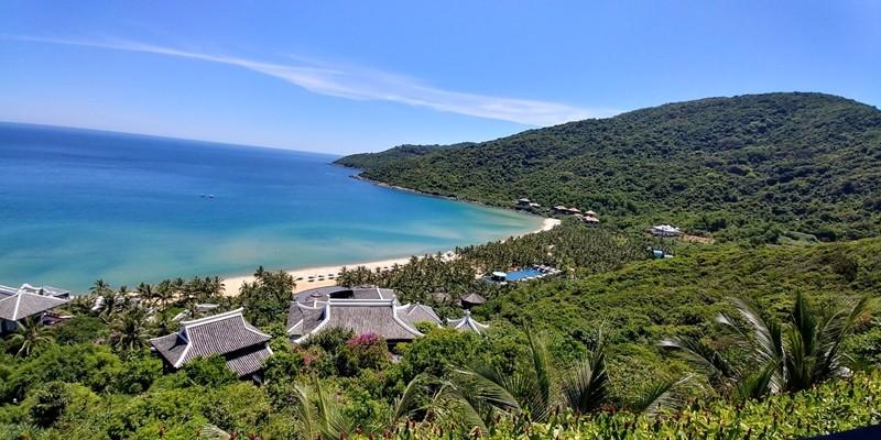 베트남의 휴양호텔 (배치와 규모에서 한국의 독채형식의 펜션과 비슷하다. 사진 윤창기)