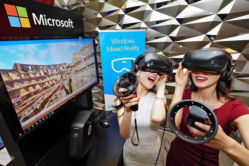 한국MS의 혼합현실 체험 행사 'Windows Mixed Reality 익스피리언스 로드쇼'