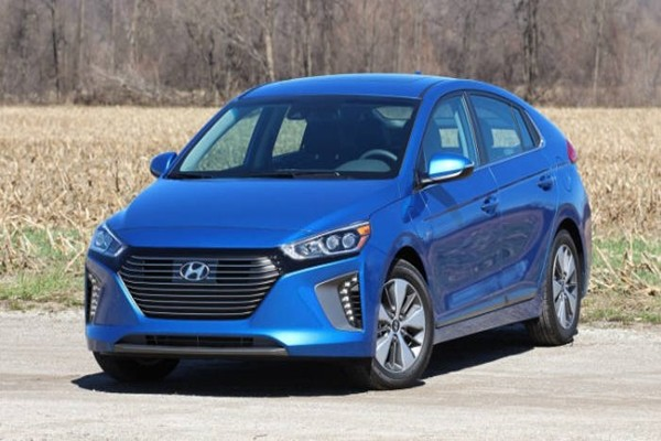 Hyundai Motor Company's 'IONIQ PHEV' that is looking to be released in the U.S.