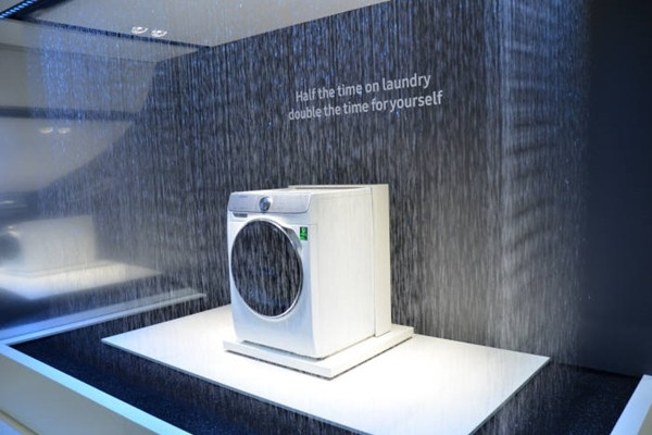 Samsung Electronics' QuickDrive washing machine