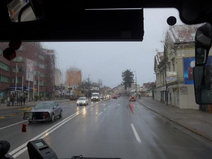 버스에서 보는 풍경
