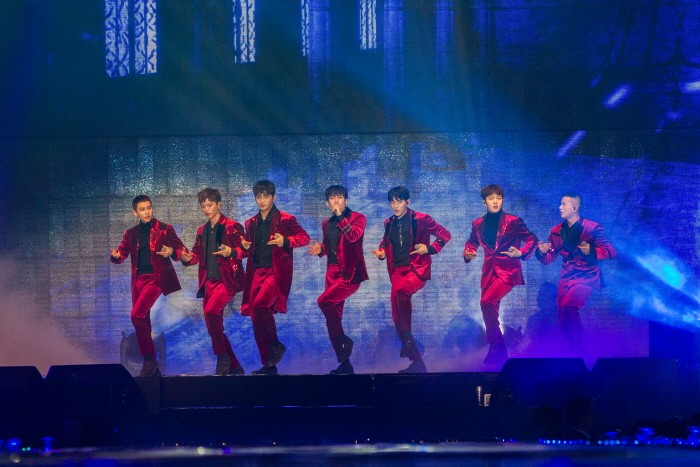23일 오후 경기 고양시 일산 킨텍스에서는 그룹 비투비의 네 번째 단독공연 '2017 비투비타임-우리들의 콘서트(2017 BTOB TIME)' 1일차가 개최됐다.(사진=큐브엔터테인먼트 제공)