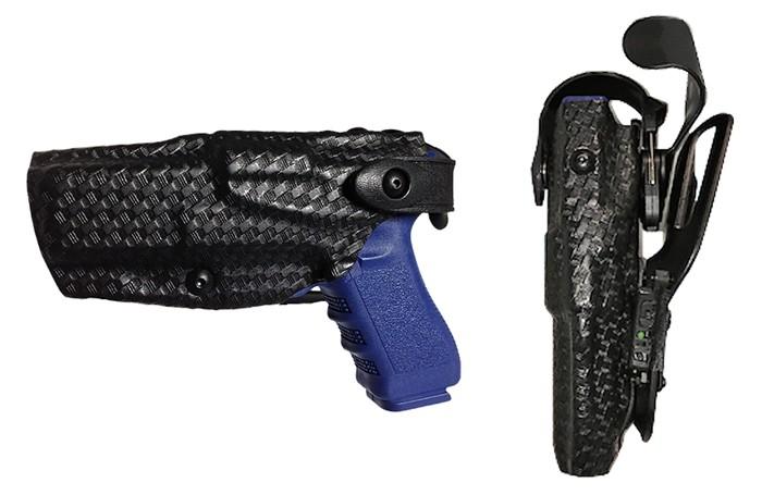스타넥스의 웨어러블 디지털 무전기 기술이 미국의 경찰, 공항, 병원 및 국가재난통신망에 내년부터 적용된다. 사진은 권총집용 스타넥스 웨어러블 디지털 무전기
