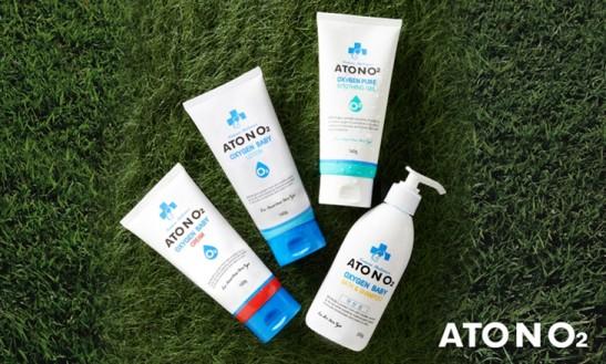 '아토엔오투(ATONO2)'의 베이비크림과 로션. 사진=아토엔오투(ATONO2) 제공