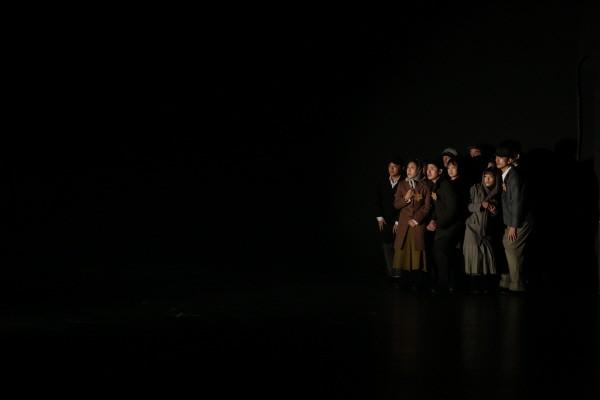 '안네 프랑크' 공연사진. 사진=세실극장, 씨어터오 제공