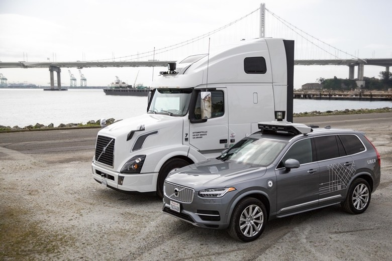 엔비디아와 우버가 자율자동차 기술 발전을 위해 협력한다.