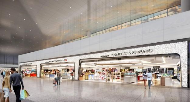 오는 1월 18일 인천국제공항 제2여객터미널이 오픈하는 가운데 입점 면세점들이 자존심을 걸고 색다른 이색 공간에서 눈길을 사로잡는 등 '총성 없는 경쟁'에 나선다. 사진=신라면세점 제공