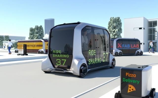 [2018 CES] 토요타, 아마존·우버와 손잡고 MaaS 전용 전기차 선보여