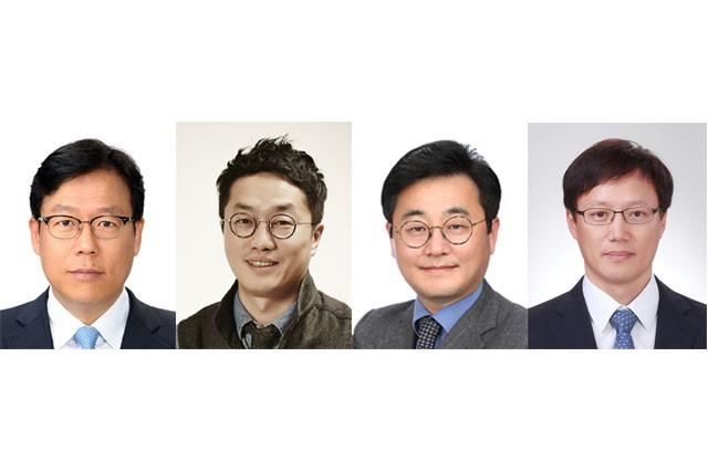 (왼쪽부터)이근주 국장, 김진화 공동대표, 구태언 대표변호사, 이대기 연구위원