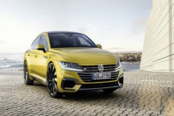 Volkswagen's new car 'Arteon' that will be released in South Korea