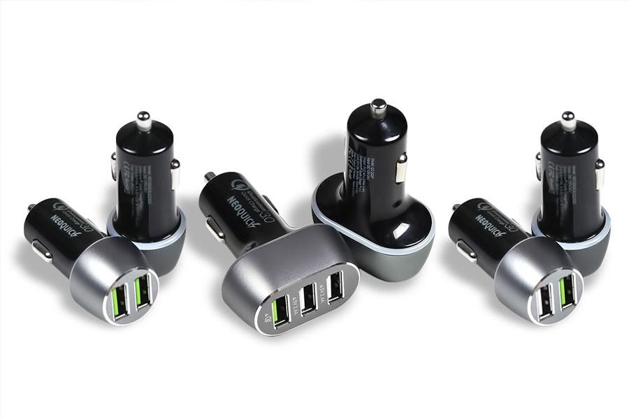 좌측부터 CC320, CC330, CC310 LED 차량용 고속충전기