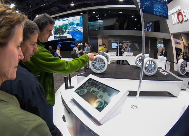 [2018 CES] 현대모비스, 'e-Corner모듈' 2021년까지 개발한다