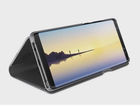 스마트폰 공동구매 사이트인 '컴백폰'은 15일 아이폰8, 갤럭시노트8 등의 휴대폰가격을 할인하는 '컴백할인'을 진행한다고 밝혔다. 갤럭시 노트8. 사진=컴백폰 제공