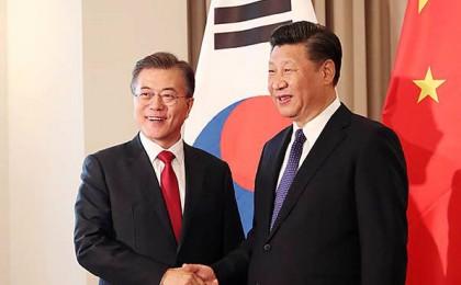 """시진핑-트럼프 통화 """"한반도 긴장 완화계기 계속 이어갈 수 있도록 공동 노력"""""""